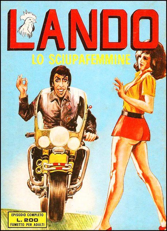 Fumetto erotico Lando