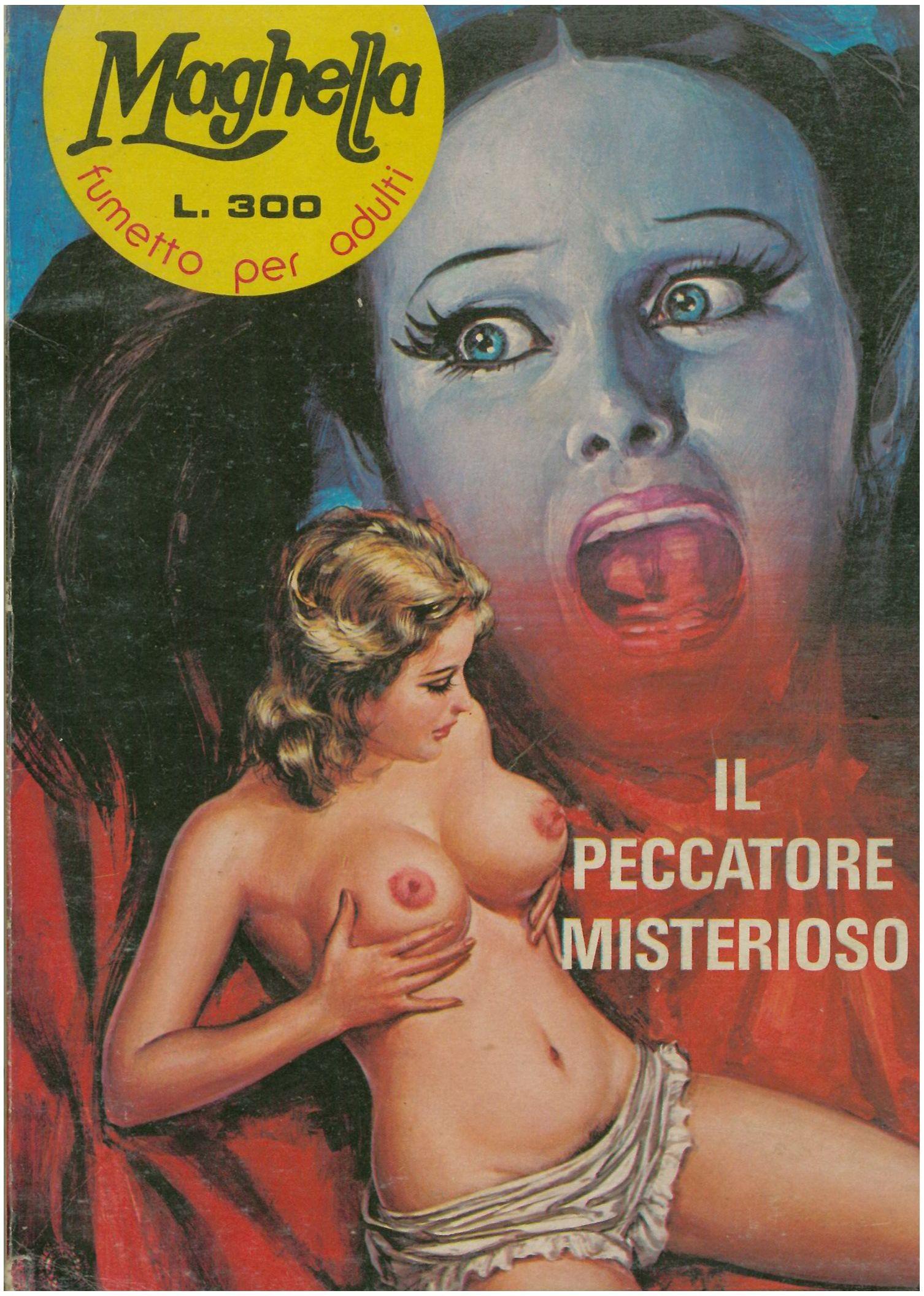 Fumetto erotico maghella