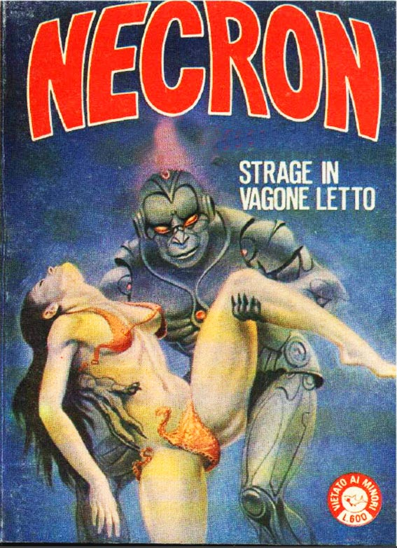 fumetto erotico necron