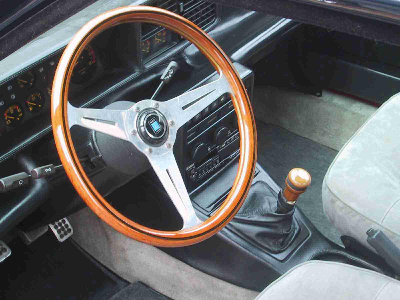 Interni della Lancia Prisma Avv. Agnelli