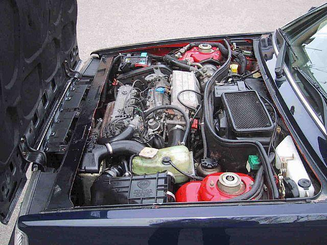 Il motore della Lancia Prisma dell' Avv. Agnelli