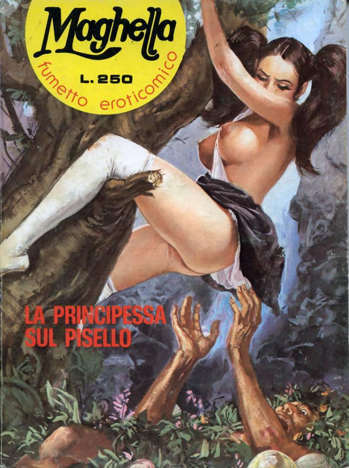 maghella fumetto erotico italiano