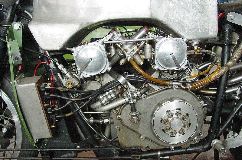 moto guzzi 8 cilindri propulsore motore
