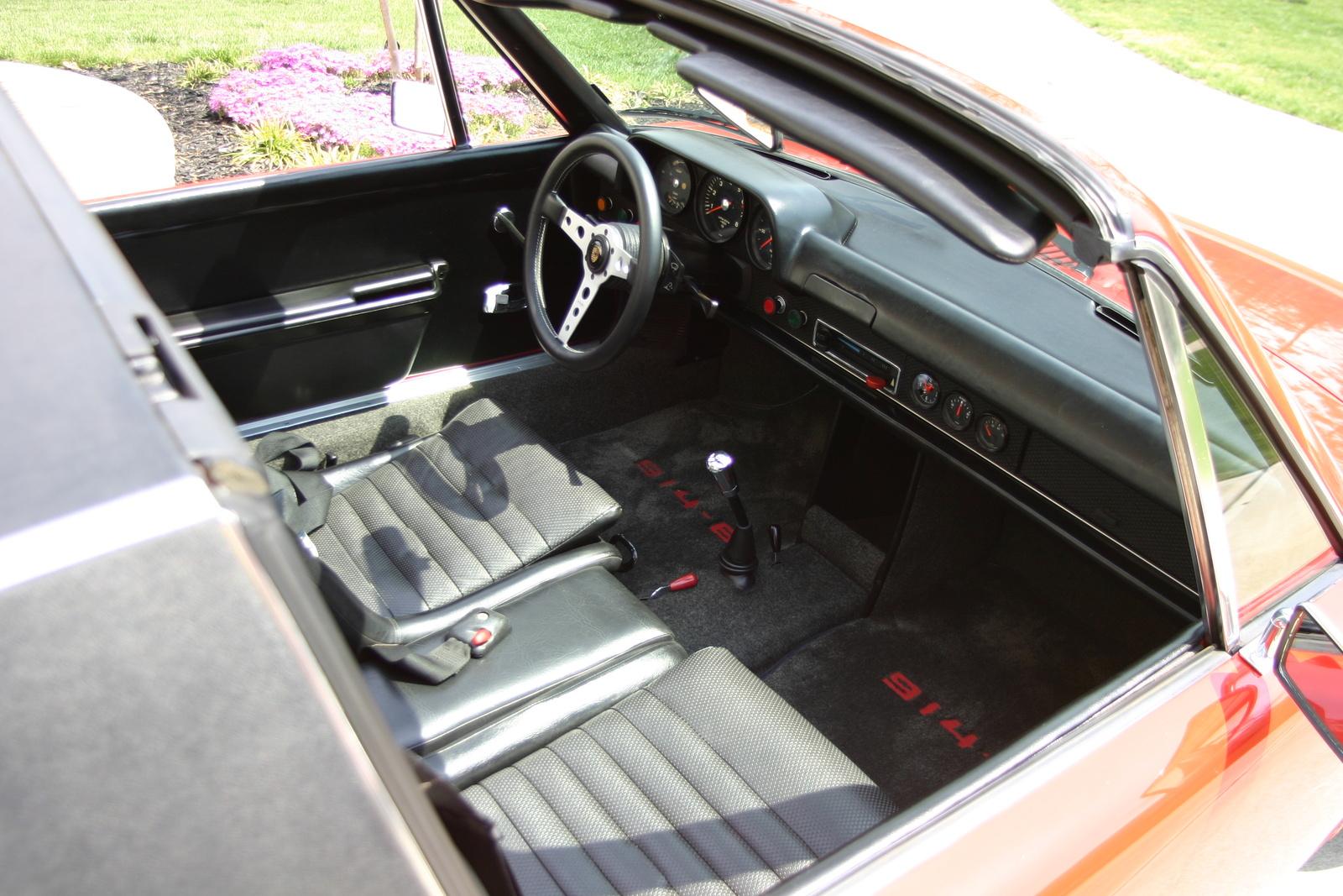 volkswagen porsche 914 1970 interni