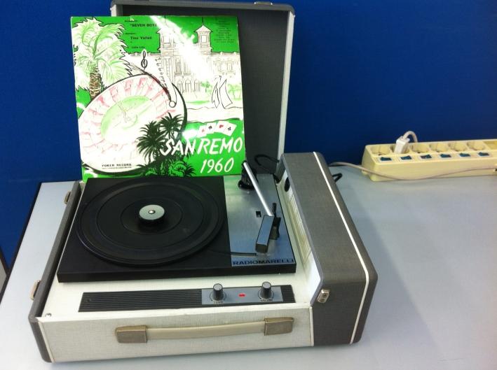 Giradischi RadioMarelli anni '60