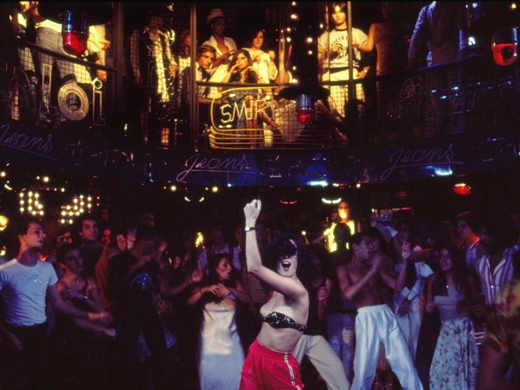 Sonia Braga in dancin' days