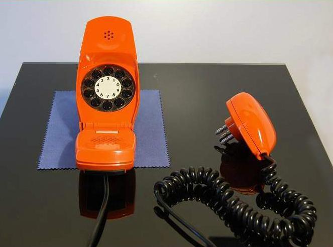 telefono grillo colore arancio siemens