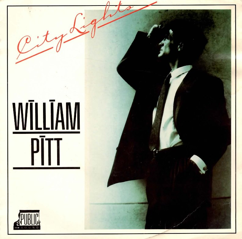 city lights william pitt copertina del 45 giri