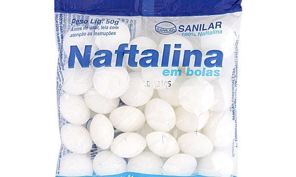 Oggetti nostro passato: NAFTALINA