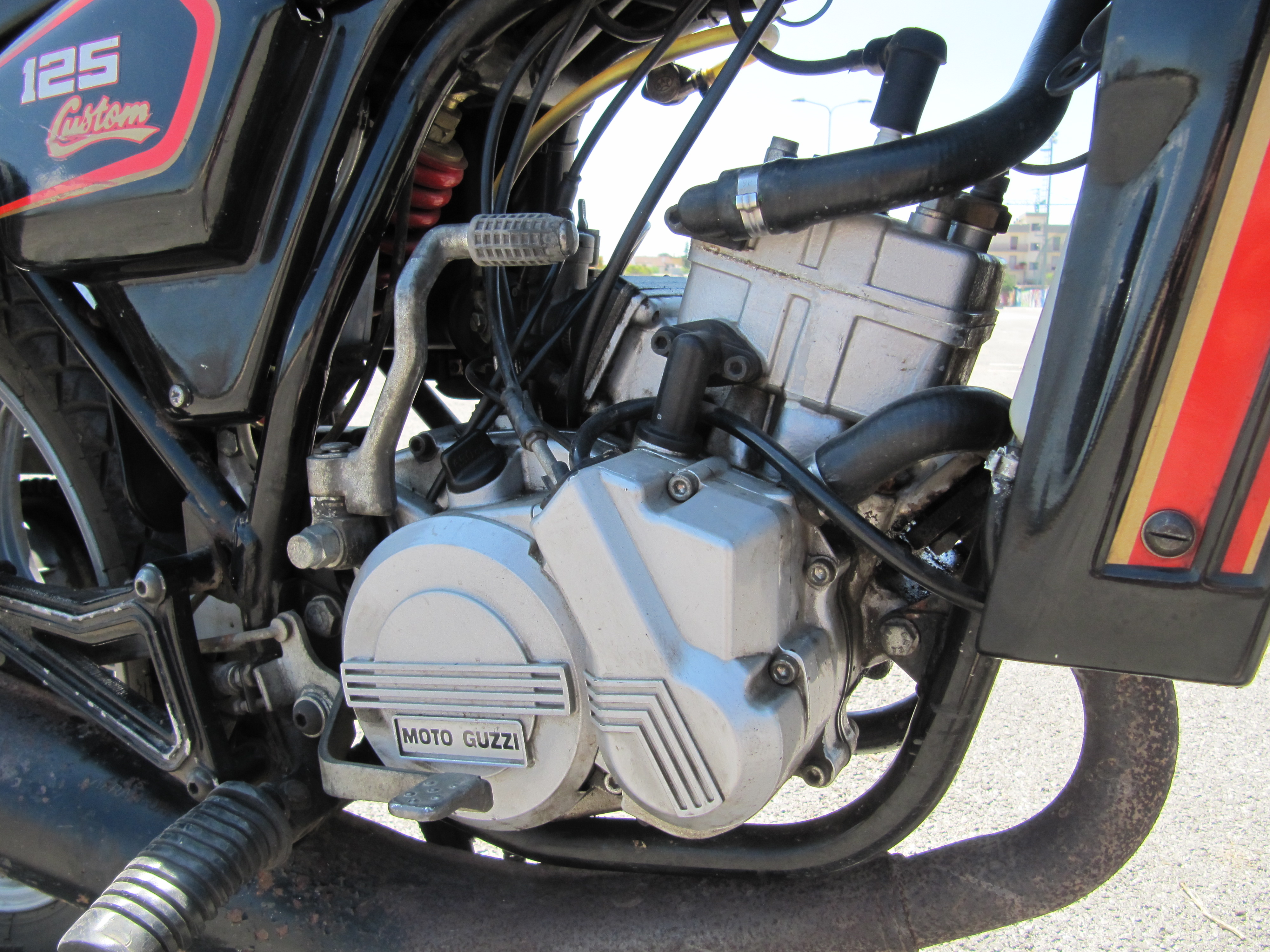Blocco Motore Moto Guzzi 125 Custom