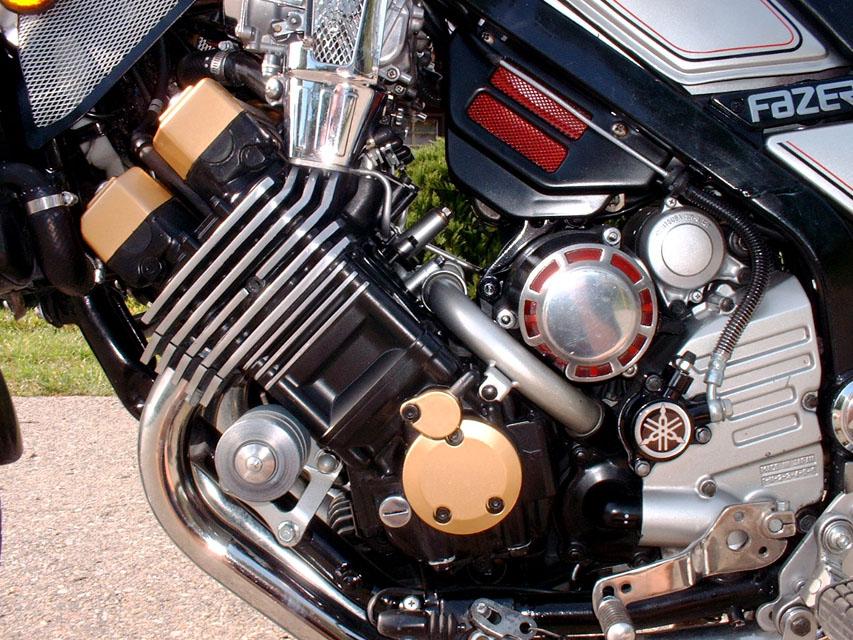 Yamaha fazer FZX 750 Fazer - Motore -