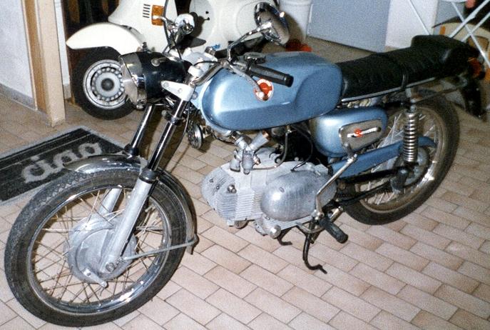 Motobi benelli Sport Special 125 2° serie