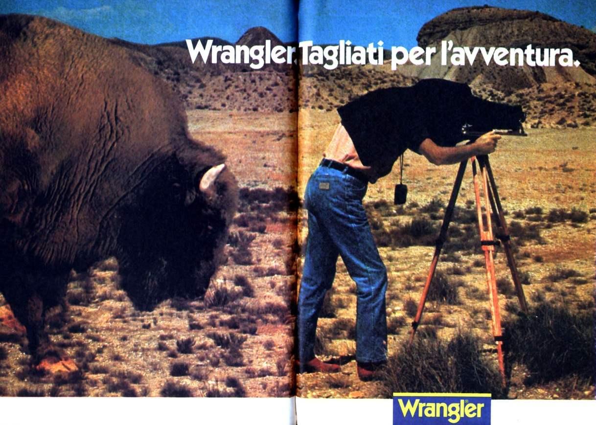 pubblicità jeans topolino anno 1982