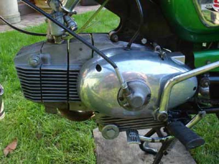 benelli-125-sport-special-motore