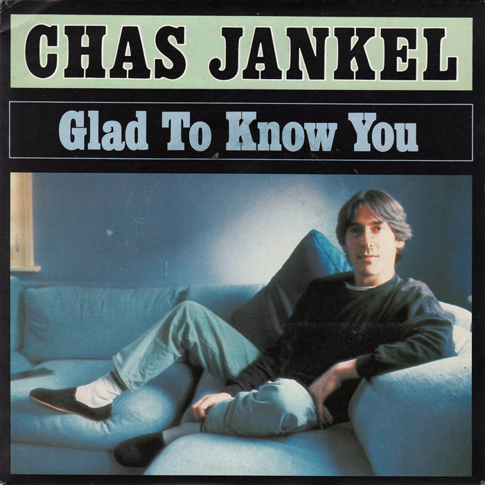 Glad to know you chaz jankel copertina