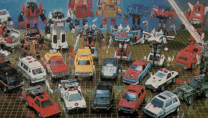 diaclone car collezione