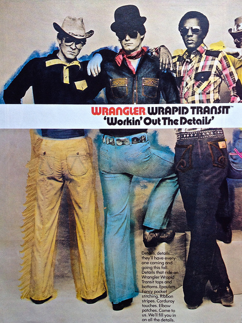 Pubblicità 1970 wrangler