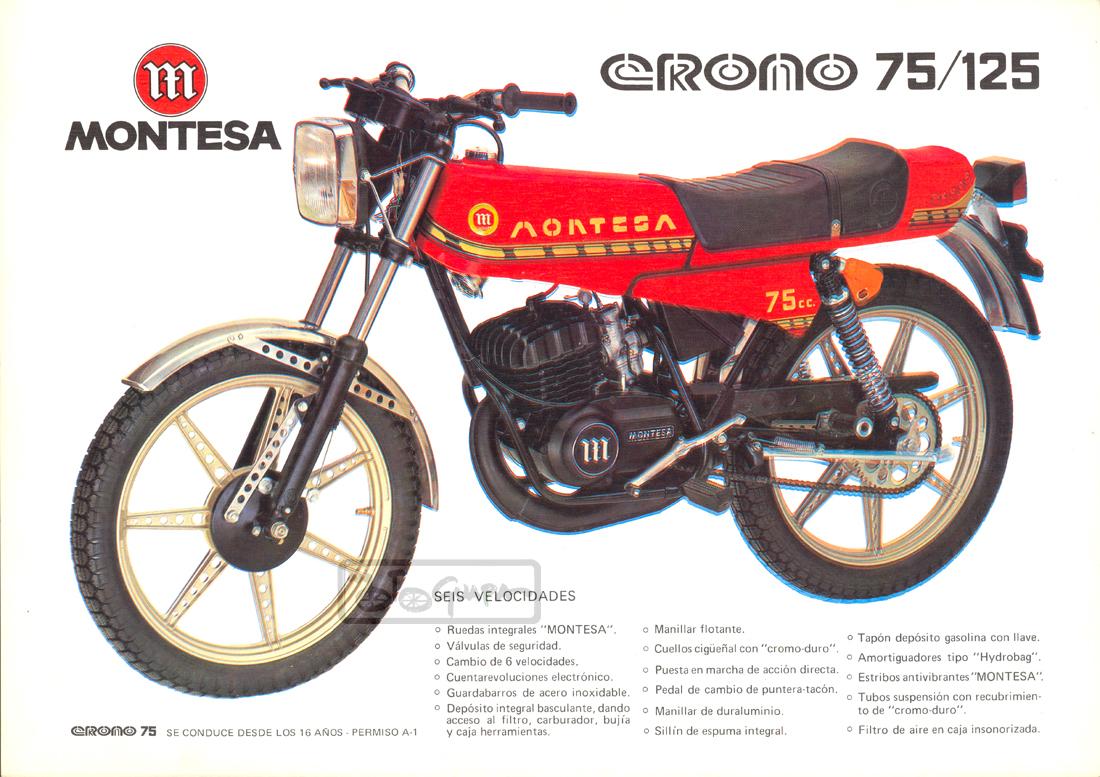 1978 Montesa Crono 75 125