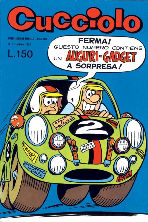 cucciolo e beppe copertina 1973