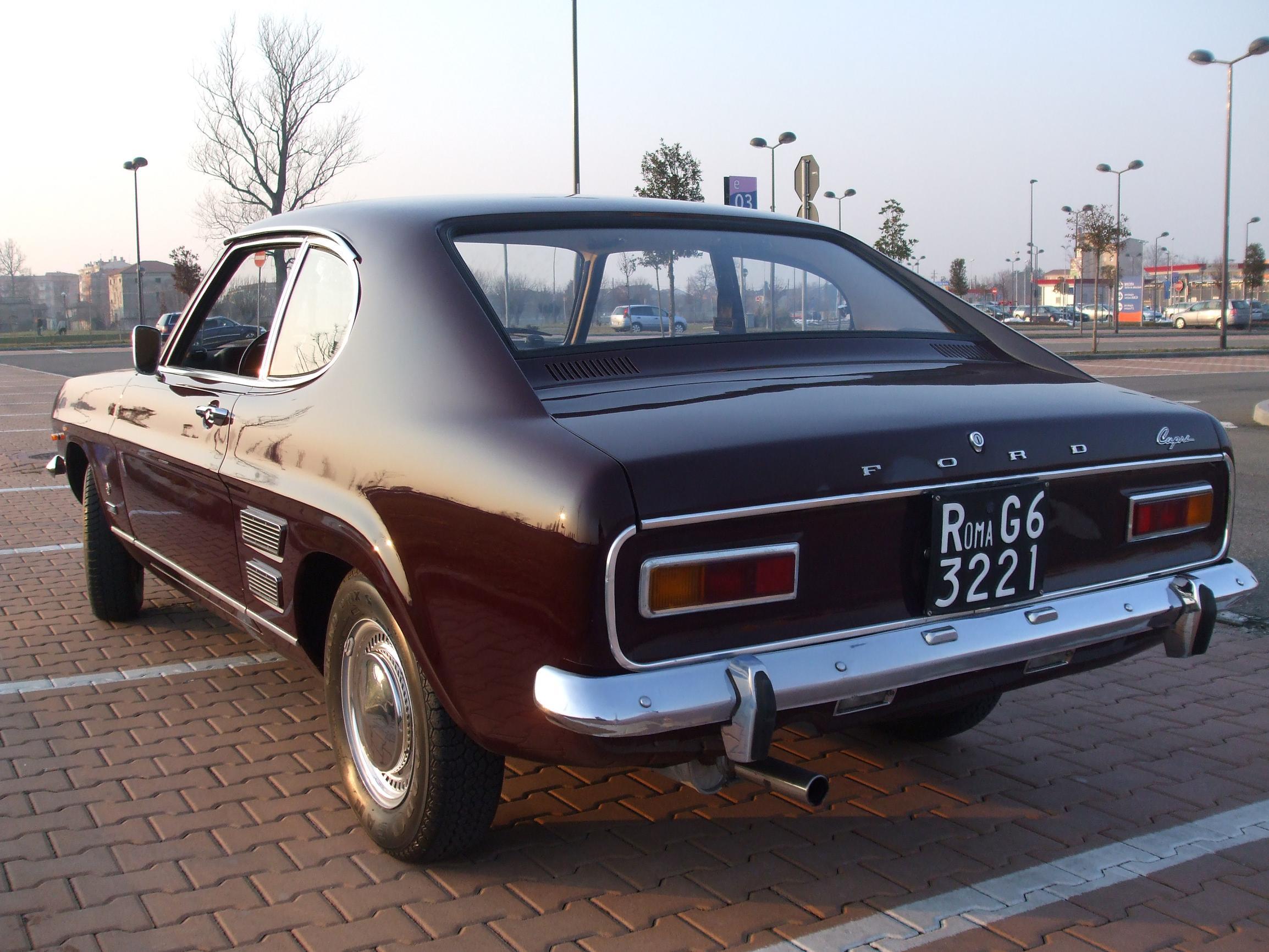 Ford Capri mk1 1971 posteriore