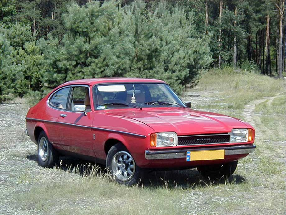 Ford capri mk2 1977