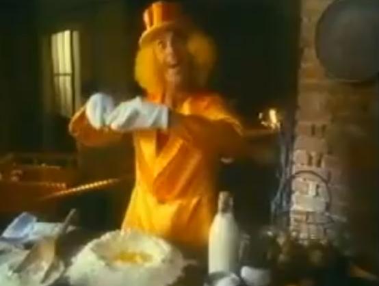 Lo spot del mago g galbusera degli anni 80