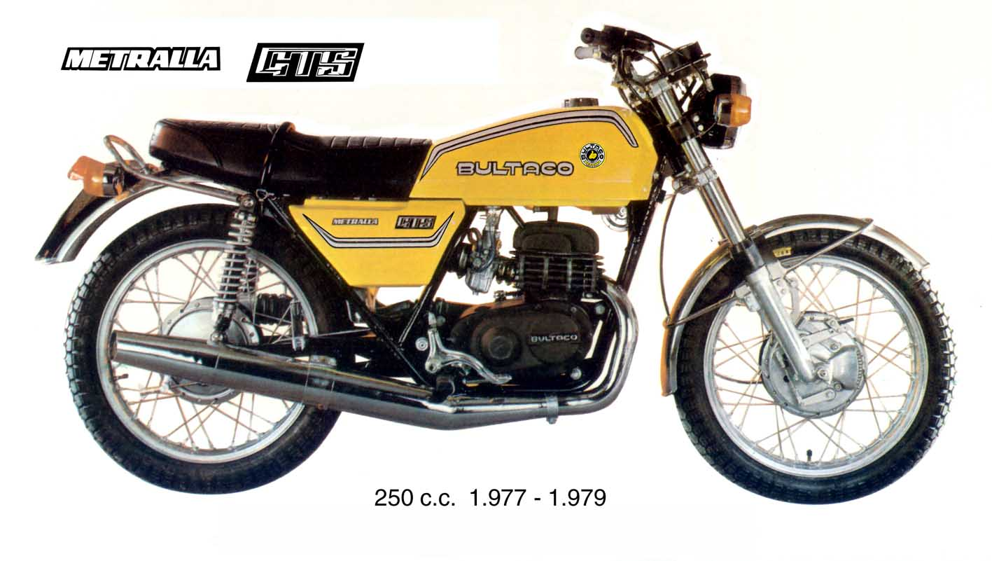 bultaco metralla gts 250 1979