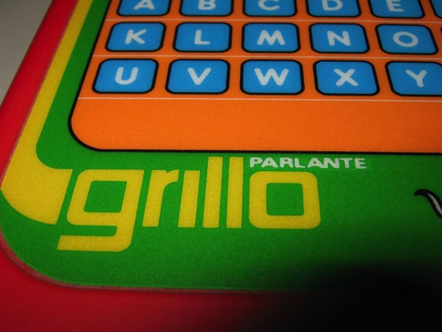 Grillo parlante clementoni gioco scatola elettronico 1971