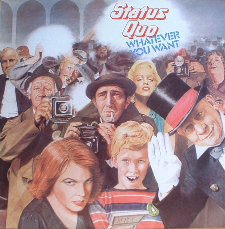 STATUS QUO 1979 whatever you want copertina