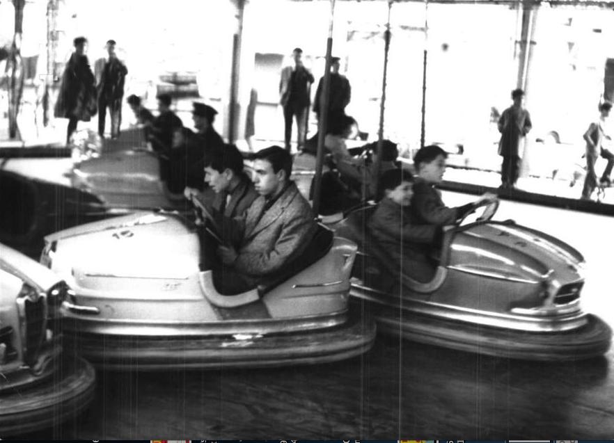 Luna park autoscontro anni 60