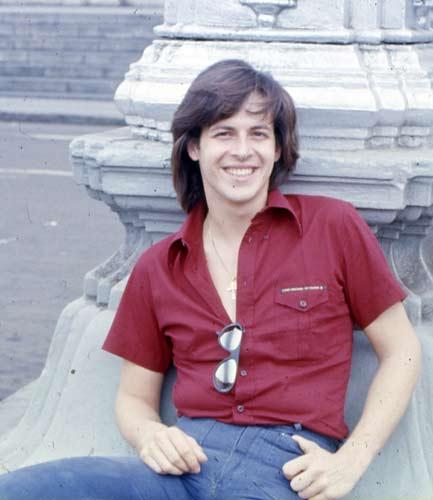 baglioni foto anni 70