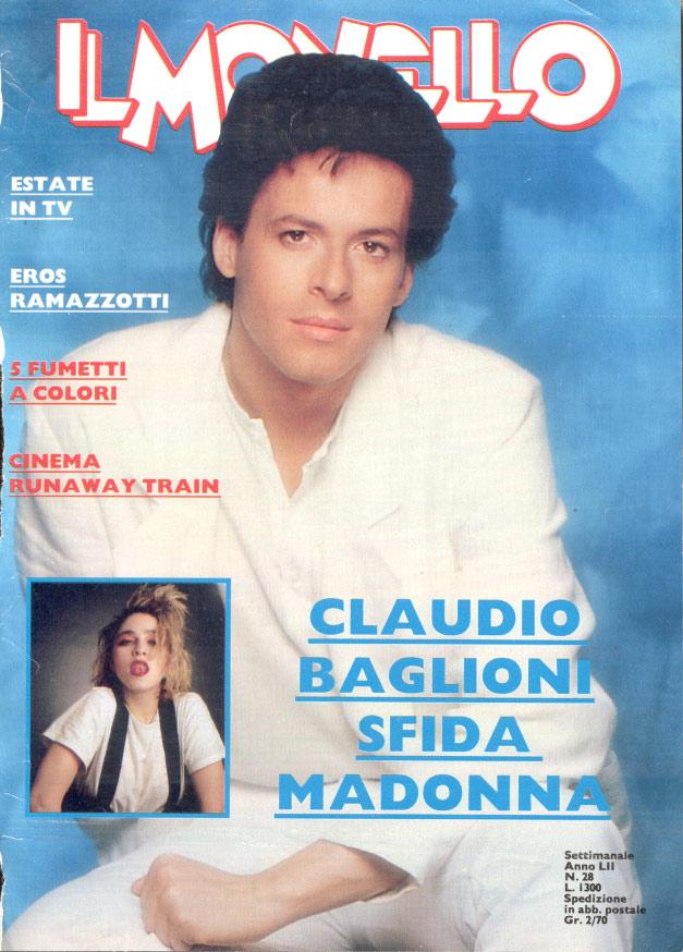baglioni claudio monello 1986 copertina