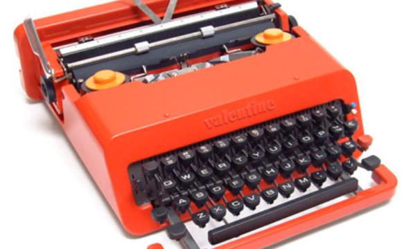 Macchina da scrivere OLIVETTI VALENTINE – (1968)