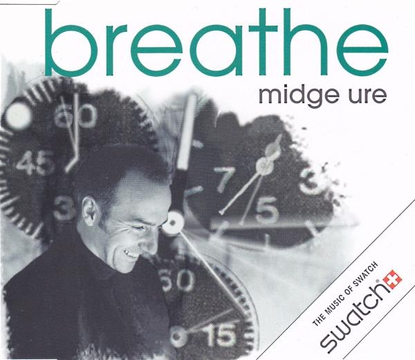 midge ure breathe radio copertina