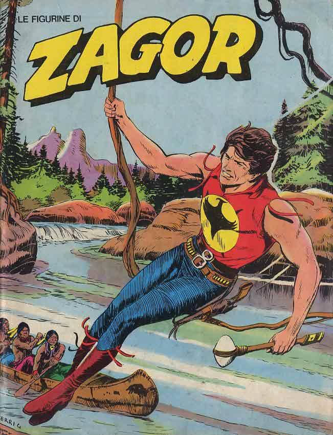 Zagor personaggio fumetti bonelli curiosando anni e anni