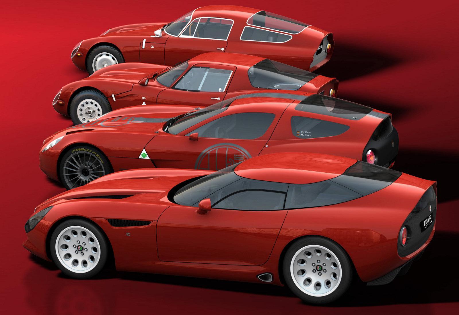 Alfa Romeo Zagato TZ3 Stradale 2011