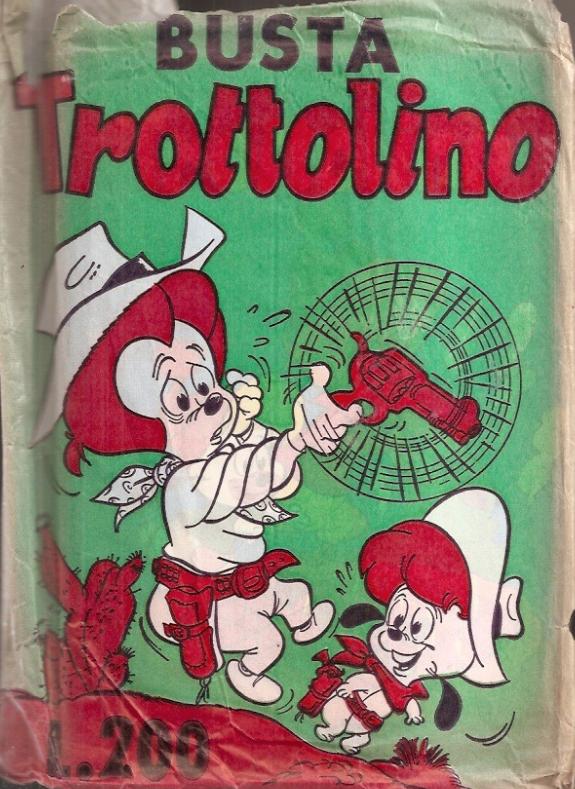 Busta Trottolino ed. Bianconi del 1975