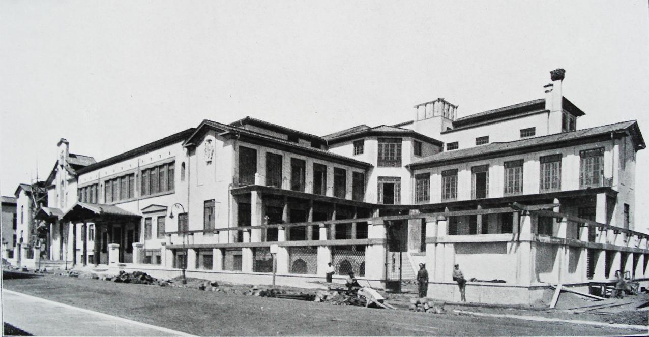Colonia marina Vittorio Emanuele III a Ostia