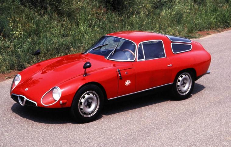 Zagato alfa romeo tz 1963