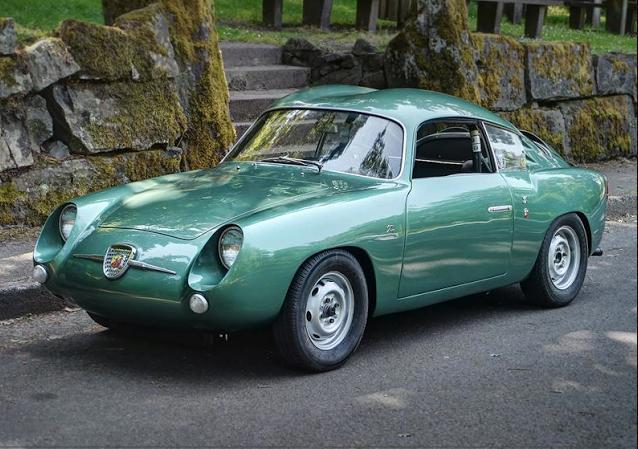 zagato Abarth 750 Coupé 1956