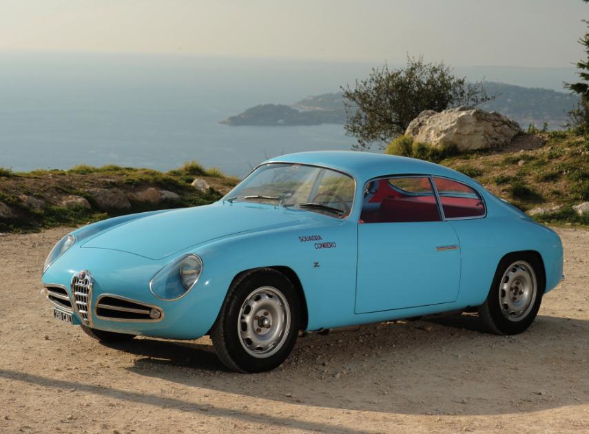 zagato Alfa Romeo Giulietta SVZ zagato 1956