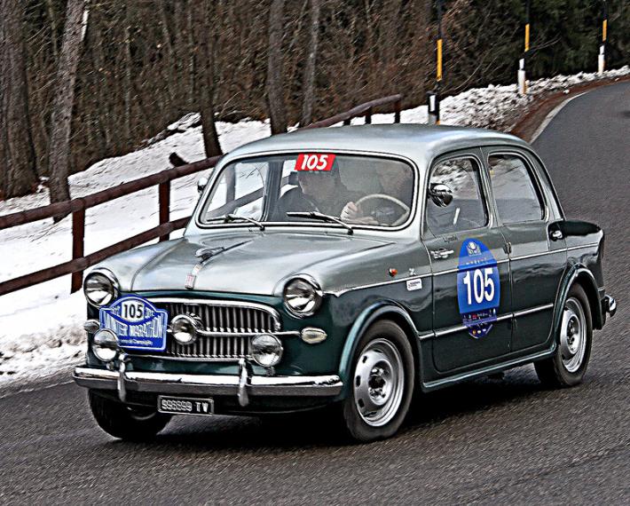 zagato Fiat 1100/103 1957