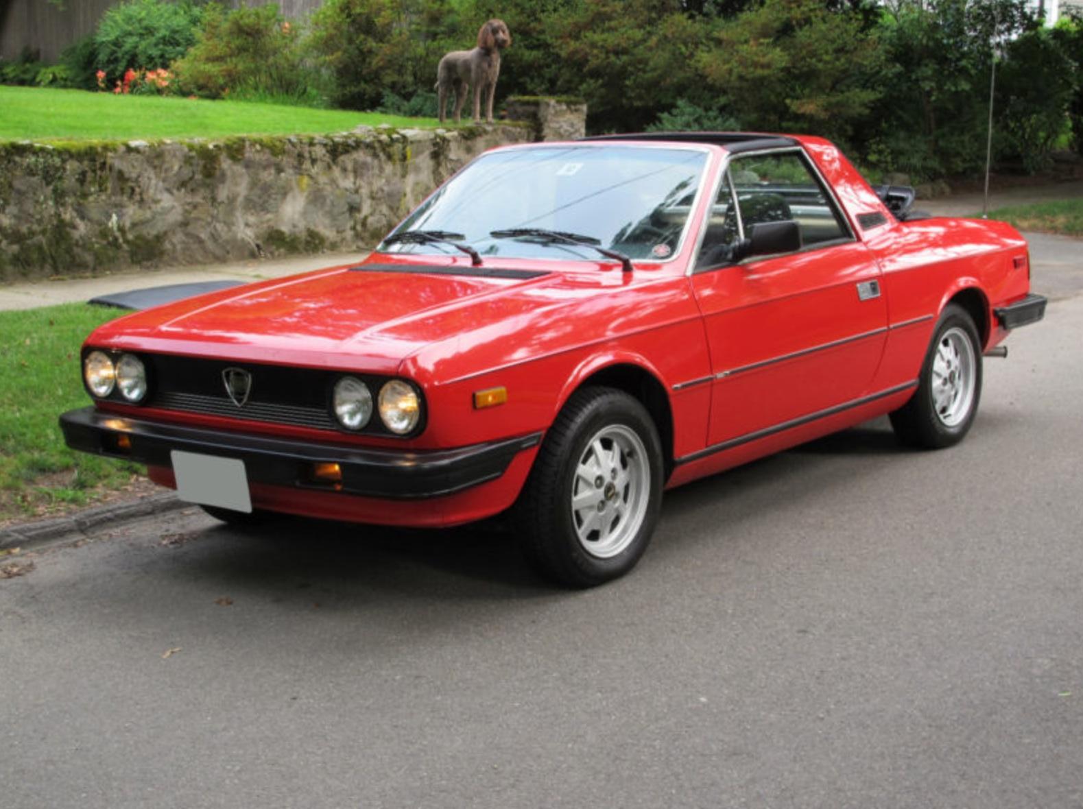 zagato Lancia Beta Spider 1974