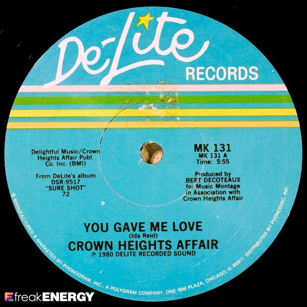you gave me love crown heights affair 1980 45 giri disco vinile