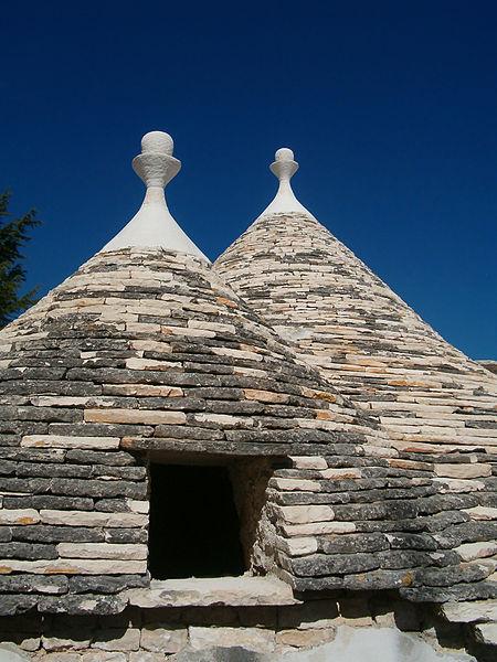 Trulli di alberobello cupole ispezionamento