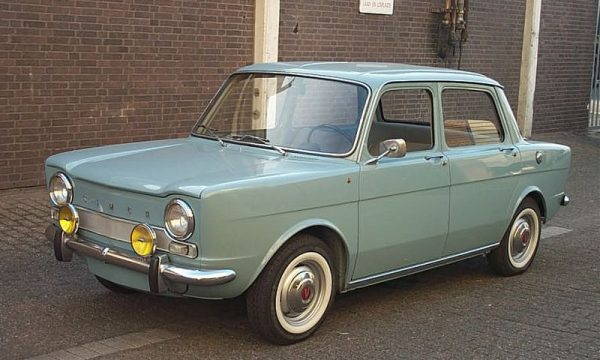 Storia dell'auto: SIMCA 1000 – (1961/1978)