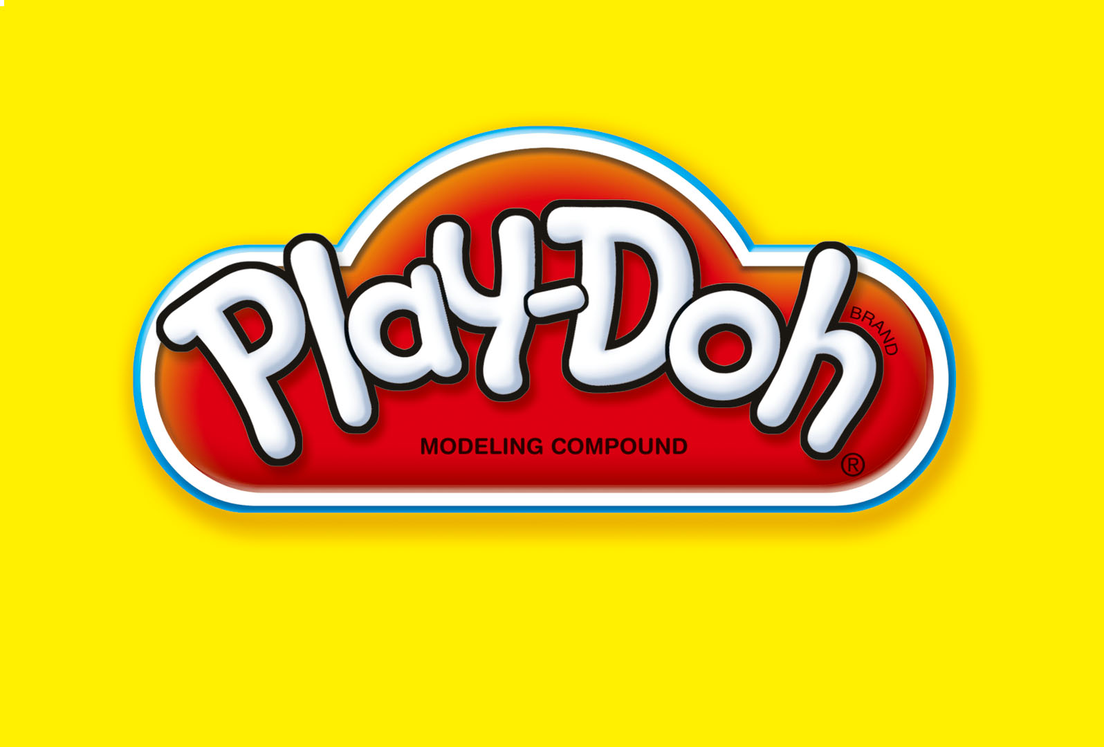 Play Doh logo with legal line