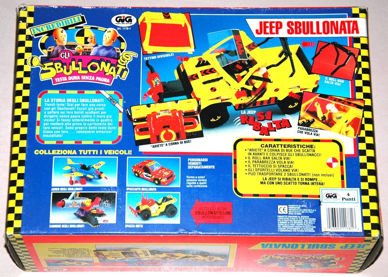 sbullonati jeep