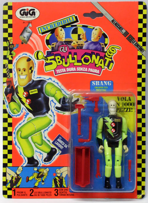 Sbullonati Sbang gig giocattoli vintage