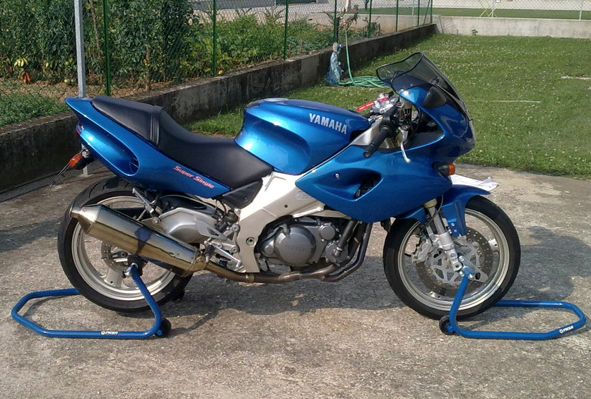 yamaha szr 660 supersingle